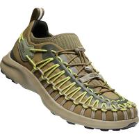 KEEN Men's Uneek SNK Sneaker Shoe - 7.5 - Dark Olive / Forest Night