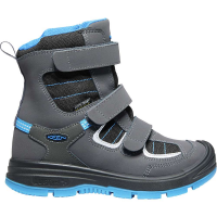 KEEN Youth Redwood Winter WP Boot - 4 - Raven / Magnet