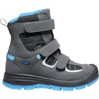 KEEN Kids' Redwood Winter WP Boot - 8 - Raven / Magnet