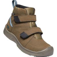 KEEN Kids' Hikeport 2 Mid Strap WP Boot - 8 - Canteen / Balsam