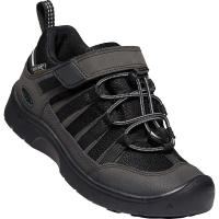 KEEN Kids' Hikeport 2 Low WP Shoe - 8 - Black / Black