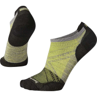 Smartwool Men's PhD Cycle Ultra Light Pattern Micro Sock - Medium - Light Grey