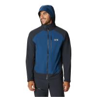Mountain Hardwear Men's Stretch Ozonic Jacket - Medium - Blue Horizon