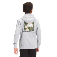The North Face Boys' Camp Fleece Pullover Hoodie - XS - TNF Light Grey Heather