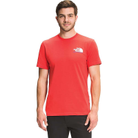 The North Face Men's K2RM Graphic SS Tee - Large - Horizon Red / TNF Blue