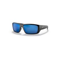 Costa Del Mar Fantail Pro Polarized Sunglasses - One Size - Matte Black/Blue 580P