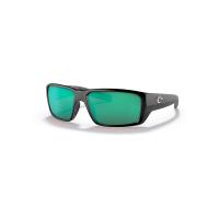 Costa Del Mar Fantail Pro Polarized Sunglasses - One Size - Matte Black/Green 580G