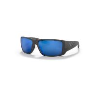 Costa Del Mar Blackfin Pro Polarized Sunglasses - One Size - Matte Black/Blue 580G
