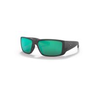 Costa Del Mar Blackfin Pro Polarized Sunglasses - One Size - Matte Black/Green 580G