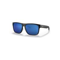 Costa Del Mar Spearo XL Polarized Sunglasses - One Size - Matte Black/Blue 580G