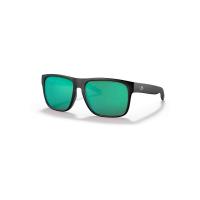 Costa Del Mar Spearo XL Polarized Sunglasses - One Size - Matte Black/Green 580G
