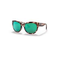 Costa Del Mar Maya Polarized Sunglasses - One Size - Coral Tortoise/Green 580G