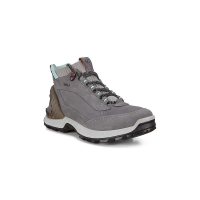 Ecco Women's Exohike High Shoe - 38 - Titanium/Concrete