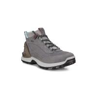 Ecco Women's Exohike High Shoe - 39 - Titanium/Concrete