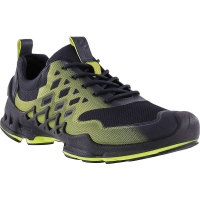 Ecco Men's Biom AEX Shoe - 45 - Black/Lime Punch