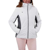 Obermeyer Women's Lorena Jacket - 10 Regular - White
