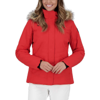 Obermeyer Women's Tuscany II Jacket - 10 Regular - Read My Lips