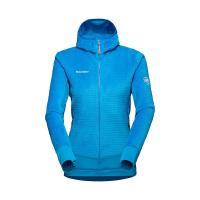 Mammut Women's Aenergy ML Hybrid Hooded Jacket - XL - Gentian/Ice