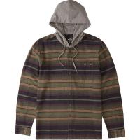 Billabong Men's Baja Flannel Shirt - Small - Stealth