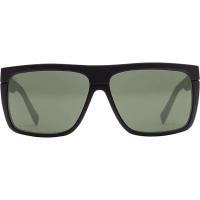 Electric Black Top Sunglasses - One Size - Matte Black / Ohm Grey