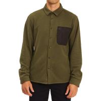 Billabong Men's Furnace Explorer Shirt - XL - Dark Olive