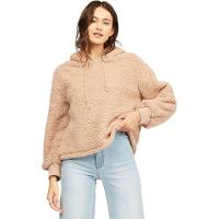 Billabong Women's Still Cozy Fleece Jacket - Small - Warm Sand