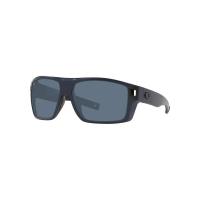Costa Del Mar Men's Diego Sunglass - One Size - Matte Midnight Blue/Grey 580P