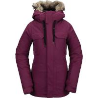 Volcom Women's Shadow Insulated Jacket - Small - Vibrant Purple