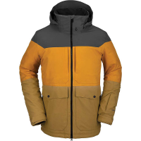 Volcom Men's Tri Star Insulated Jacket - XL - Burnt Khaki