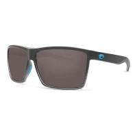 Costa Del Mar Rincon Polarized Sunglasses - One Size - Black/Tortoise/Gray 580P