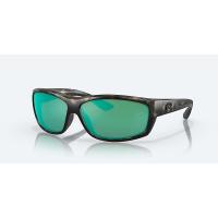 Costa Del Mar Saltbreak Polarized Sunglasses - One Size - Blackout/Blue W580