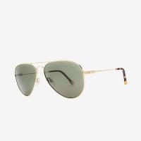 Electric AV1 Sunglasses - One Size - Shiny Gold / Grey Polarized