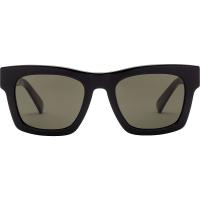 Electric Crasher 49 Sunglasses - One Size - Gloss Black / Grey Polarized