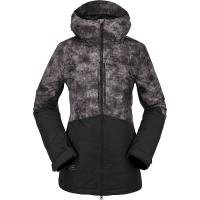Volcom Women's Strayer Insulated Jacket - Small - Acid Black