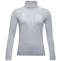 Rossignol Women's Classique Roll Neck Sweater - Small - Light Grey