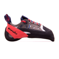 Evolv Men's Oracle Climbing Shoe - 12 - Blue / Red / Grey