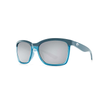 Costa Del Mar Anaa Polarized Sunglasses - One Size - Black on Brown/Gray 580P