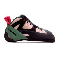 Evolv Men's The General Climbing Shoe - 12.5 - Tan / Army Green