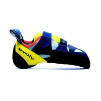 Evolv Women's Shakra Climbing Shoe - 12.5 - Aqua / Neon Yellow