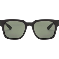 Electric Zombie S Polarized Sunglasses - One Size - Matte Black / Ohm Polarized Grey