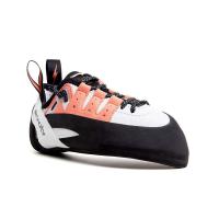 Evolv Women's Geshido Lace Climbing Shoe - 9 - White / Coral / Black