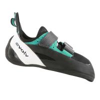Evolv Men's Geshido Climbing Shoe - 10.5 - Black / Teal / White