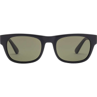 Electric Pop Sunglasses - One Size - Matte Black / Grey Polarized