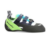 Evolv Men's Supra Climbing Shoe - 12 - White / Neon Green