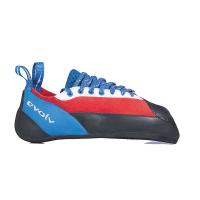Evolv Men's Ashima Climbing Shoe - 7 - Red / White / Blue