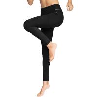 Eddie Bauer Motion Women's Trail Tight Hybrid Legging - Medium - Black