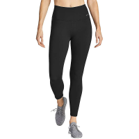 Eddie Bauer Motion Women's Movement Lux High Rise 7/8 Pant - Small - Black