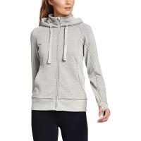 Eddie Bauer Motion Women's Cozy FZ Sweatshirt - XXL - Coral Neon
