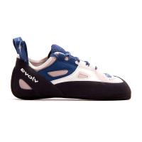 Evolv Women's Skyhawk Climbing Shoe - 7 - White / Blue