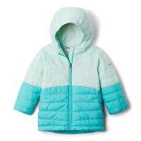 Columbia Toddlers' Girls Humphrey HillsPuffer Jacket - 2T - Sea Ice / Dolphin